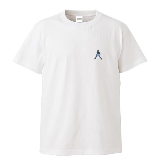 WTM Tシャツ LEGENDS Johnny.R.(ホワイト)