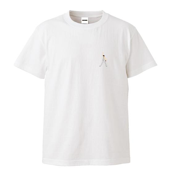 WTM Tシャツ LEGENDS Freddie. M.(ホワイト)