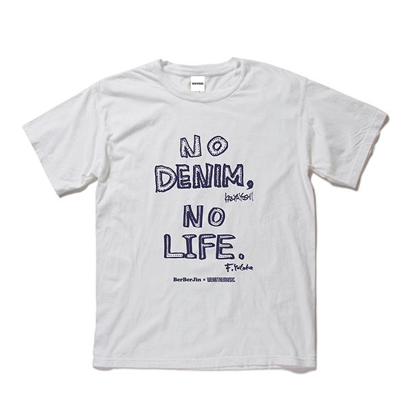 BerBerJin × 吉井和哉 × WEARTHEMUSIC N.D.N.L. T-Shirt(Vintage White)