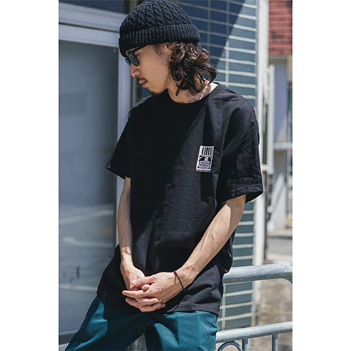 Twenty Seven × WEARTHEMUSIC 0913 T-shirt(Black)