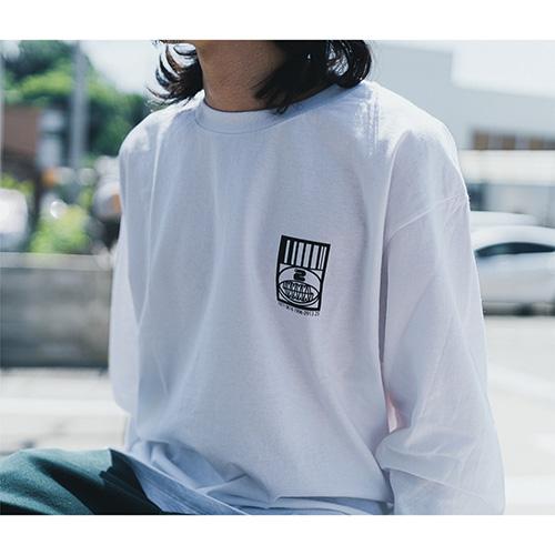 Twenty Seven × WEARTHEMUSIC 0913 L/S T-shirt(White)