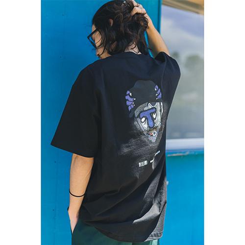 Twenty Seven × WEARTHEMUSIC 0907 T-shirt(Black)