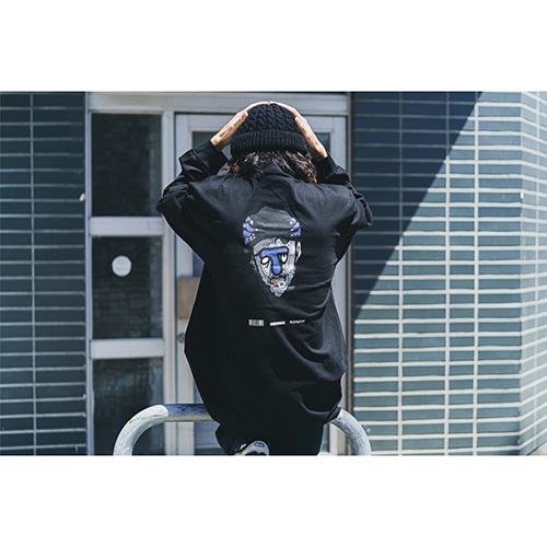 Twenty Seven × WEARTHEMUSIC 0907 L/S T-shirt(Black)