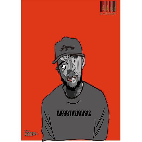 Twenty Seven × WEARTHEMUSIC 0907 Poster(A2)