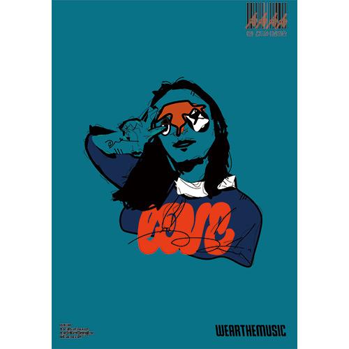 Twenty Seven × WEARTHEMUSIC 0628 Poster(A2)