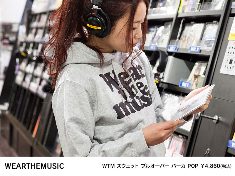 WTM スウェット プルオーバー パーカ POP ¥4,860(税込)