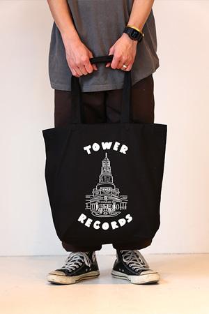 WTM トートバック TOWER THEATER(ブラック/バッチ付)