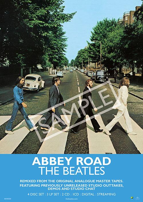 The Beatles Abbey Road 先着特典:B2ポスター