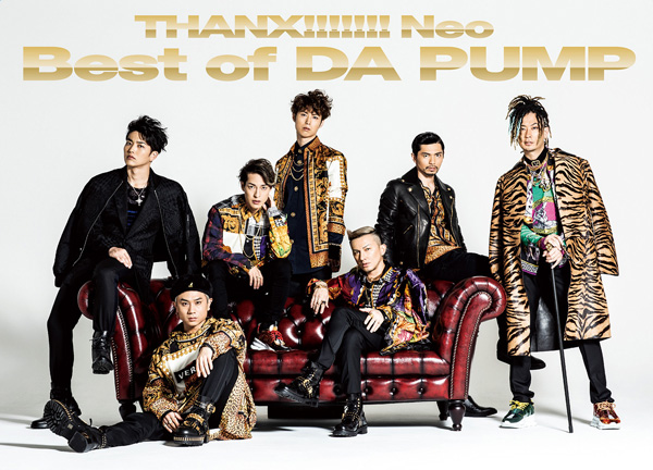 『THANX!!!!!!! Neo Best of DA PUMP』【Type-A】2CD + DVD盤