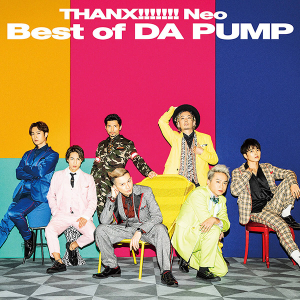 『THANX!!!!!!! Neo Best of DA PUMP』【Type-B】CD + DVD
