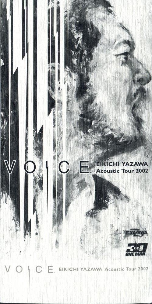 ONE MAN 30 ~VOICE~ EIKICHI YAZAWA ACOUSTIC TOUR 2002