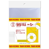TOWER RECORDS DVDファイル 1枚用 (10枚入り)