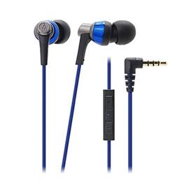 audio-technica iPod/iPhone/iPad専用インナーイヤーヘッドホンATH-CKR3i Blue