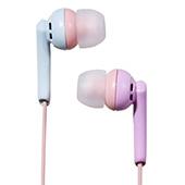 NAGAOKA 密閉型インナーイヤーヘッドホン Blue Pink