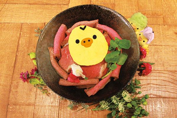 [数量限定]キイロイトリのローストビーフ丼
