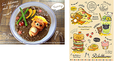 キャンペーン5 Rilakkuma × TOWER RECORDS CAFE 『Rilakkuma DELI CAFE』
