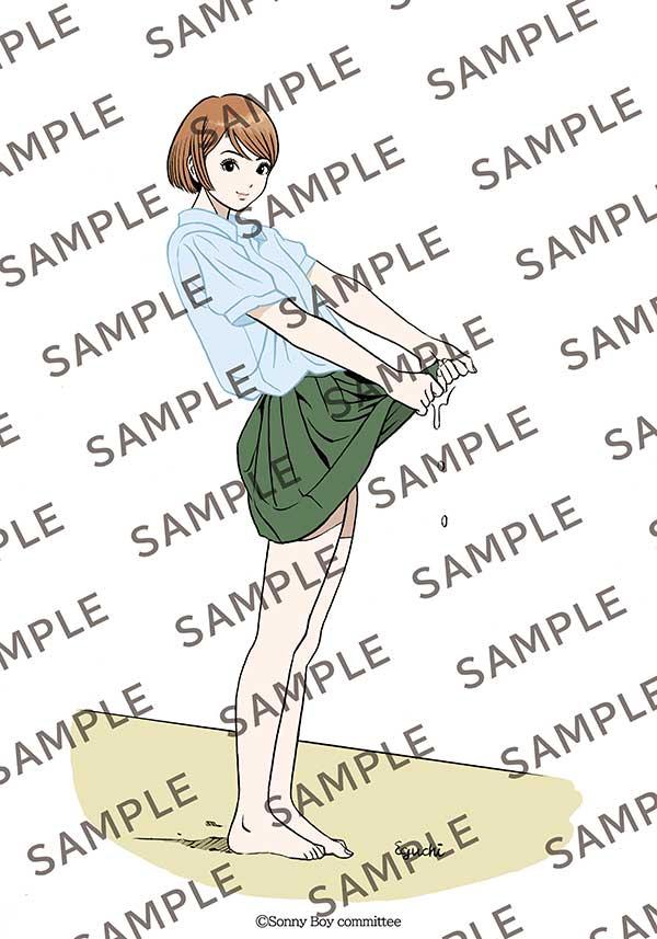 江口寿史描き下ろしA4ビジュアルシート