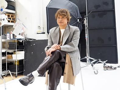 香取慎吾:MAKING REPORT