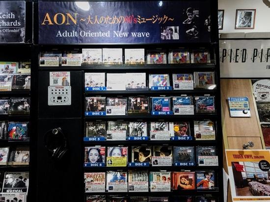 渋谷店AONコーナー